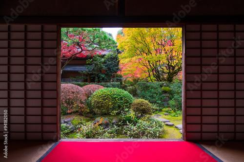 Foto op Canvas Bedehuis 京都 大徳寺 高桐院の紅葉