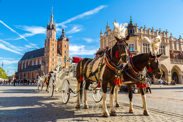 Kraków dorożka