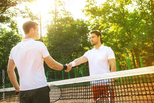 Plakát Koncepce pro mužské tenistů
