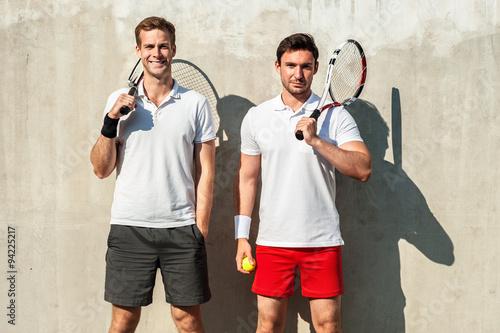 Obraz na plátně Koncepce pro mužské tenistů