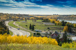 North Saskatchewan River valley view, Edmonton, Alberta