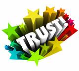 Trust Stars Faith Reputation Credible Belief poster