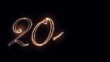 New Year sign 2016