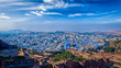 Panorama of Jodhpur Blue City. Rajasthan, India