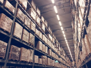 storage of warehouse