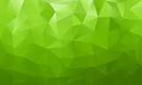 Fototapety low poly background green 4