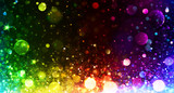 Rainbow of Lights - Party Background