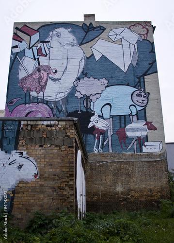 fototapeta na ścianę Graffiti, Streetart