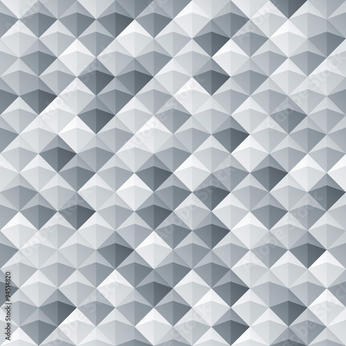 White gray seamless geometric texture - 94514820