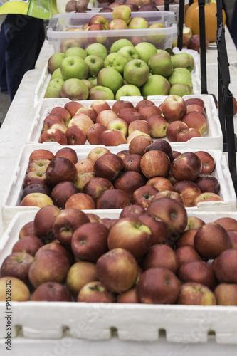 Poster Apple Bins