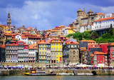 Ribeira, the old town of Porto, Portugal - Fine Art prints