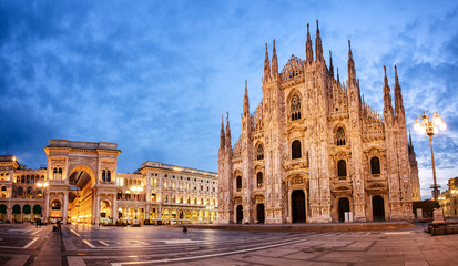 Milan Cathedral, Italy © Boris Stroujko