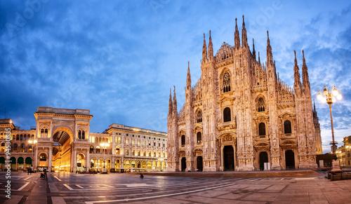 Foto op Plexiglas Milan Milan Cathedral, Italy