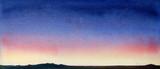 colorful watercolor landscape