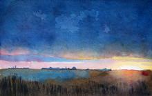 Barwny krajobraz