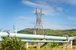 Energy and Power: Electric Pylon and Steam Pipeline