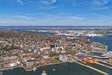 Aerial view of Port Newark in Bayonne - 94600809