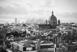 beautiful retro view of  Paris