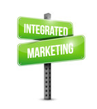 Integrated Marketing street sign concept