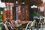 Fototapety restaurant in Paris, France