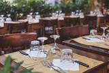 Fototapety restaurant in Italy