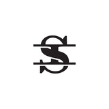 Letter I and S monogram logo