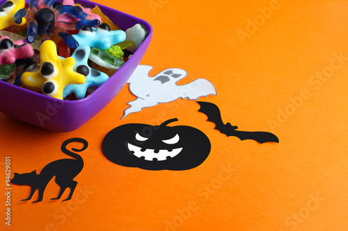 Pics Photos - Halloween Jello Worm And Spider Nest Treats ...