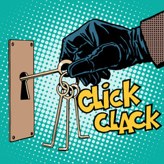 burglary theft robber crime secret mystery
