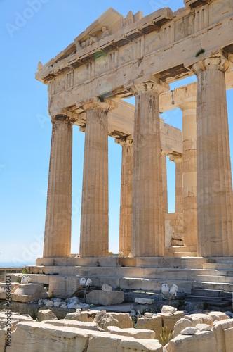 Staande foto Athene Griechenland Athen Akropolis