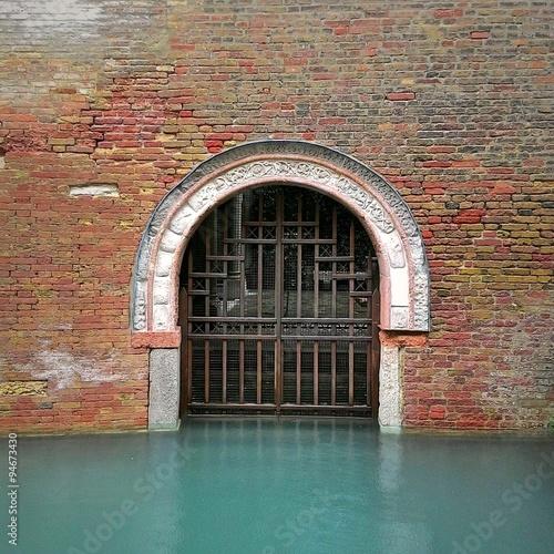 Foto op Aluminium Venice Entrata dal canale
