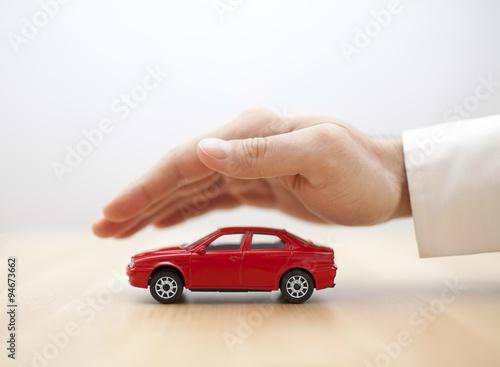 Plakát, Obraz Pojištění auta