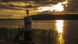 small lighthouse stockholm malaren sweden 1071
