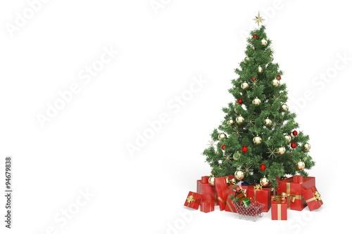 Drzewko świąteczne.