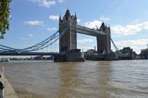 Tower Bridge low view