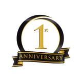 Anniversary Logo Black Gold 1