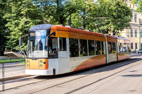 Poster Tram in Krakow