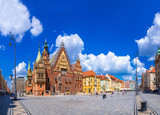 Fototapety City Hall in Wroclaw