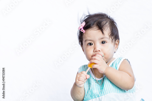 Asian Baby Eating 56