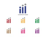 Business Chart People Logo