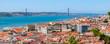 Lisbon Historical City Panorama, Portugal