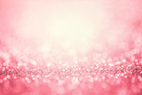 Abstract pink light for romance background