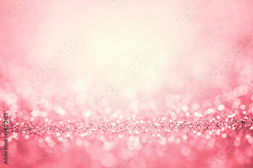Foto Murales Abstract pink light for romance background
