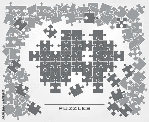 Jigsaw puzzle background © la_puma