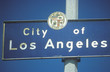 A sign that reads ÒCity of Los AngelesÓ