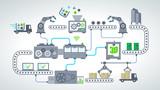 Fototapety industrie 4.0 - usine du futur - 2015_10 - 005