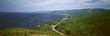 Panoramic view of Pleasant Bay in Cape Breton, Nova Scotia, Canada