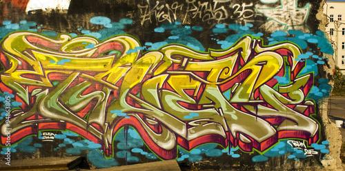 Graffiti, Streetart Berlin Poster
