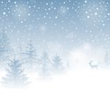 Fototapety Magic Winter Background