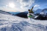 Expert Snowboarder jump