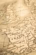 アンティーク�世界地図 フランス